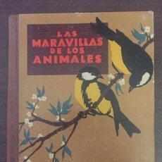 Libros de segunda mano: LAS MARAVILLAS DE LOS ANIMALES - AGUSTÍN BALLVÉ - EDIT. SEIX Y BARRAL HNOS., BARCELONA 1950. Lote 201547650