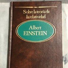 Libros de segunda mano de Ciencias: SOBRE LA TEORÍA DE LA RELATIVIDAD, ALBERT EINSTEIN Nª 3 DE SARPE 1983. Lote 202281961