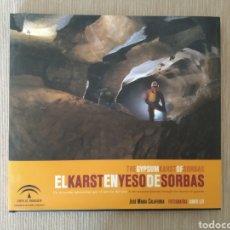 Libros de segunda mano: LIBRO EL KARST EN YESO DE SORBAS JUNTA ANDALUCÍA. Lote 202317500