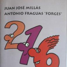 Libros de segunda mano de Ciencias: NÚMEROS PARES, IMPARES E IDIOTAS - JUAN JOSÉ MILLÁS - ANTONIO FRAGUAS FORGES**. Lote 202624557