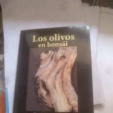 Livres d'occasion: LOS OLIVOS EN BONSÁI. Lote 203037735