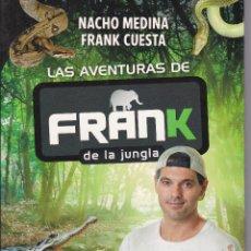 Libros de segunda mano: LAS AVENTURAS DE FRANK DE LA JUNGLA. Lote 203231535