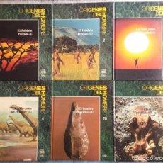 Livres d'occasion: ORÍGENES DEL HOMBRE. 6 TOMOS - TIME LIFE. FOLIO. Lote 203441496