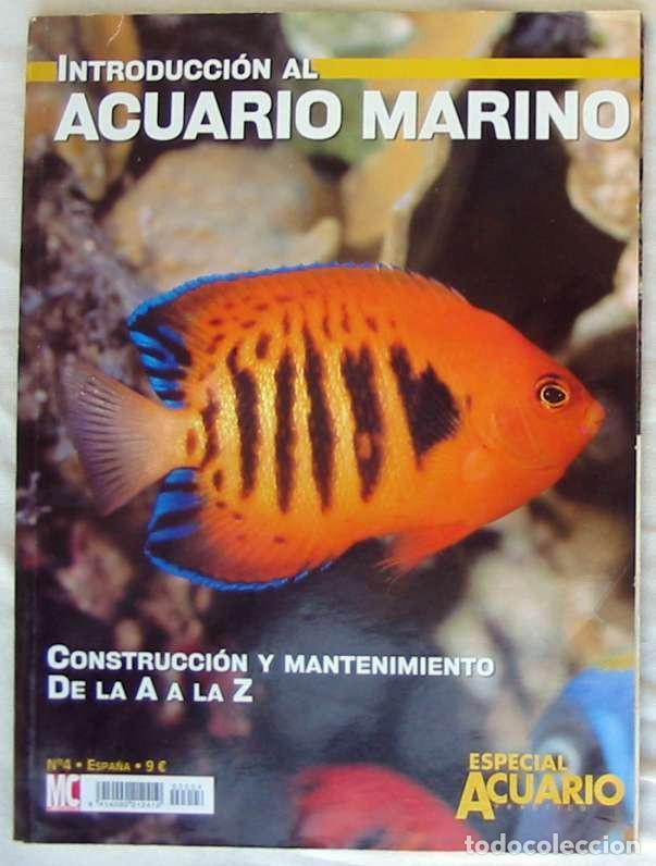 Introducción Al Acuario Marino Construcción Y Comprar Libros De Biología Y Botánica En Todocoleccion 203972435
