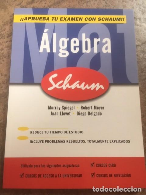ALGEBRA. EDITORIAL MC GRAW HILL (Libros de Segunda Mano - Ciencias, Manuales y Oficios - Física, Química y Matemáticas)