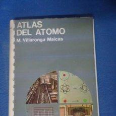 Libros de segunda mano de Ciencias: ATLAS DEL ÁTOMO, ED. JOVER - , MUY ILUSTRADO , VER FOTOS. Lote 204691606