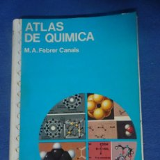 Libros de segunda mano de Ciencias: ATLAS DE QUÍMICA, ED. JOVER - , MUY ILUSTRADO , VER FOTOS. Lote 204695561