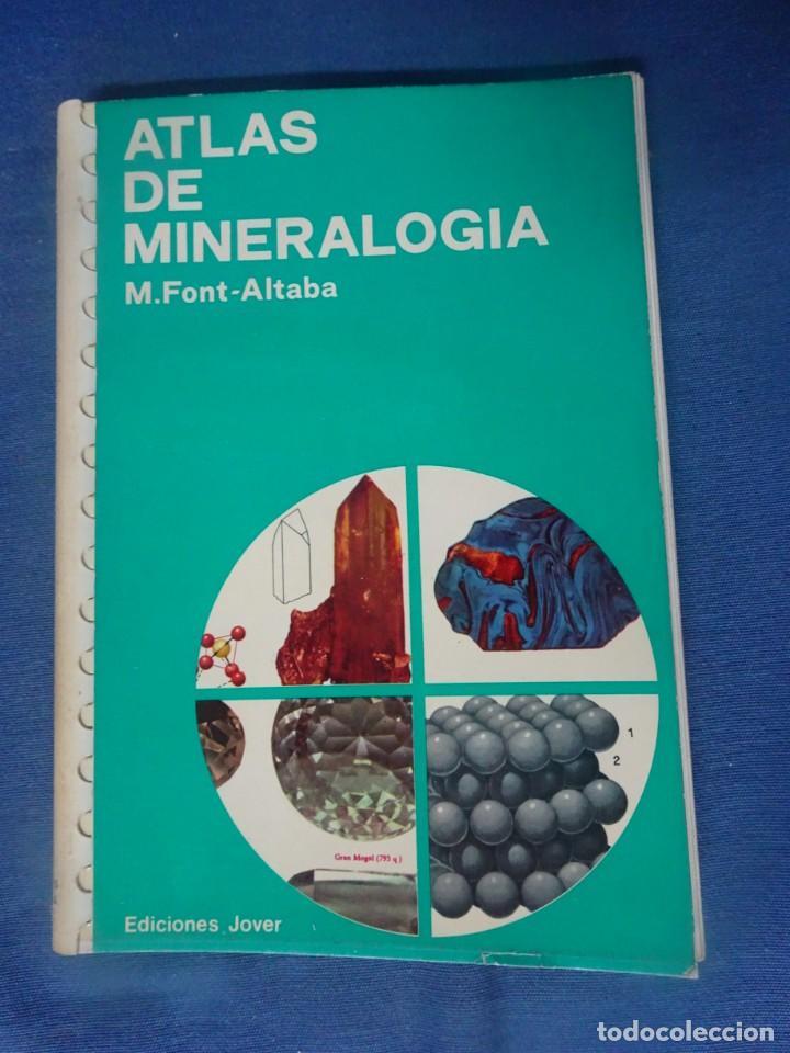 ATLAS DE MINERALOGÍA, ED. JOVER - , MUY ILUSTRADO , VER FOTOS (Libros de Segunda Mano - Ciencias, Manuales y Oficios - Paleontología y Geología)