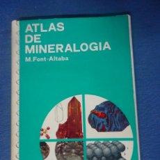 Livros em segunda mão: ATLAS DE MINERALOGÍA, ED. JOVER - , MUY ILUSTRADO , VER FOTOS. Lote 204696990