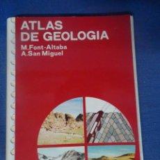 Livros em segunda mão: ATLAS DE GEOLOGÍA, ED. JOVER - , MUY ILUSTRADO , VER FOTOS. Lote 204700288