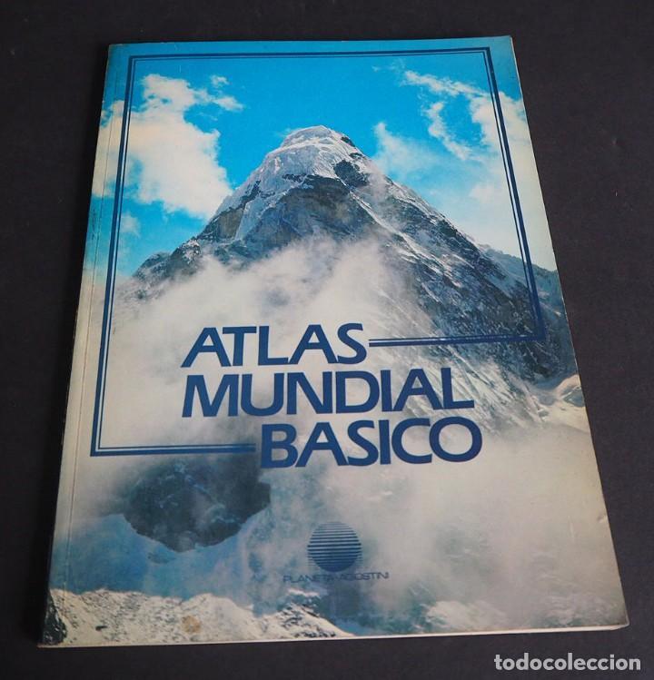 ATLAS MUNDIA BASICO. PLANETA AGOSTINI. 1984 (Libros de Segunda Mano - Ciencias, Manuales y Oficios - Paleontología y Geología)