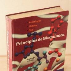 Livres d'occasion: PRINCIPIOS DE BIOQUÍMICA - LEHNINGER, ALBERT L. - NELSON, DAVID L. - COX, MICHAEL. (SEGUNDA EDICIÓN). Lote 199696292