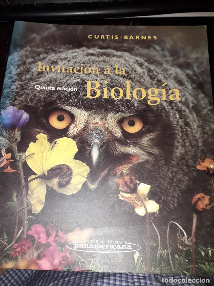 LIBRO 2036 INVITACION A LA BIOLOGIA CURTIS BARNES EDITORIAL MEDICA PANAMERICANA (Libros de Segunda Mano - Ciencias, Manuales y Oficios - Biología y Botánica)