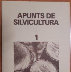Libros de segunda mano: APUNTS DE SILVICULTURA OCTUBRE1992 CENTRE DE PROPIETAT FORESTAL DL: B-30373/92 EN CATALÁN. Lote 205445600