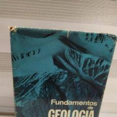 Libros de segunda mano: FUNDAMENTOS DE GEOLOGÍA - ROGERS, JOHN J. W/ ADAMS, JOHN A. S. Lote 205871601