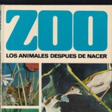 Libros de segunda mano: ZOO - LOS ANIMALES DESPUES DE NACER - OTTO VON FRISCH - EDITORIAL BRUGUERA 1978. Lote 206160373