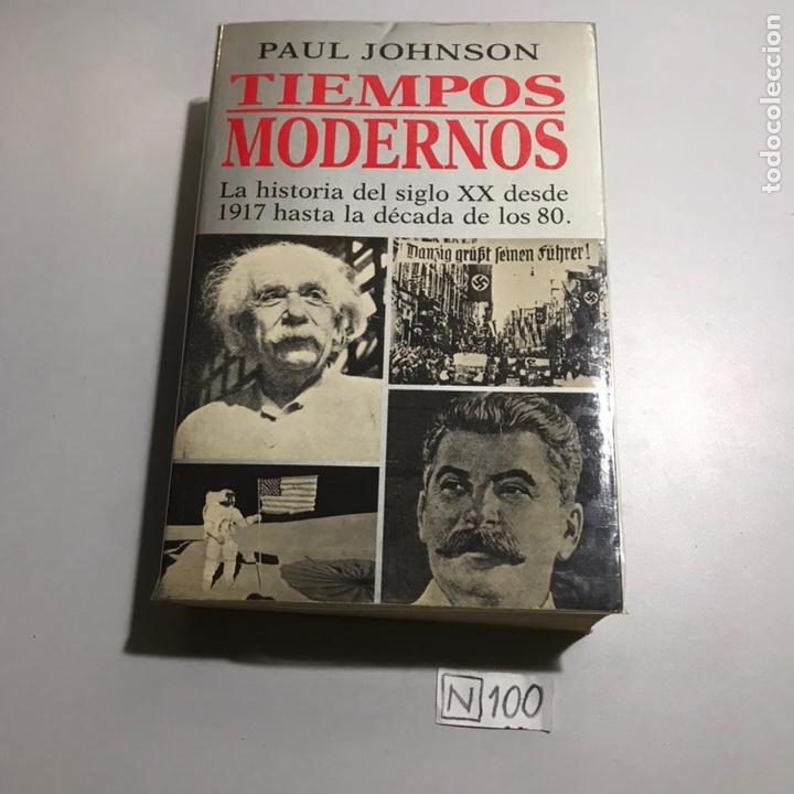 TIEMPOS MODERNOS (Libros de Segunda Mano - Ciencias, Manuales y Oficios - Física, Química y Matemáticas)
