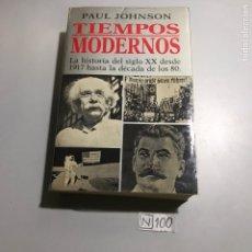 Libros de segunda mano de Ciencias: TIEMPOS MODERNOS. Lote 206832092