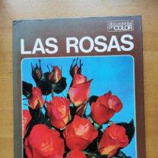 Livres d'occasion: PEDIDO MINIMO 6€ - LAS ROSAS - DOCUMENTAL EN COLOR - EDIT, TEIDE - 31CM X 23CM - 64PAG.. Lote 207009862