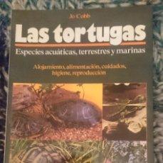 Libros de segunda mano: LAS TORTUGAS. ESPECIES ACUATICAS TERRESTRES Y MARINAS. Lote 207137740