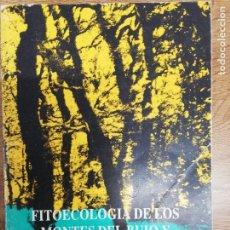Libros de segunda mano: FITOECOLOGÍA DE LOS MONTES DEL BUIO Y SIERRA DEL XISTRAL. CASTROVIEJO BOLIVAR. Lote 207145456