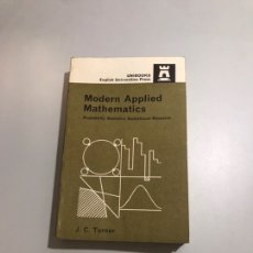 Libros de segunda mano de Ciencias: MODERN APPLIED MATHEMATICS. Lote 207550820