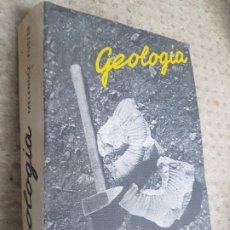 Libros de segunda mano: LIBRO GEOLOGIA MELENDEZ FUSTER 1978. Lote 207877186