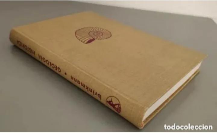 Libros de segunda mano: COMPENDIO DE GEOLOGÍA HISTÓRICA, BRINKMANN 1966 - Foto 8 - 207975622