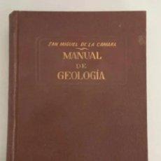 Libros de segunda mano: MANUAL DE GEOLOGÍA, SAN MIGUEL DE LA CAMARA, EDITORIAL MARIN, 3ª EDICIÓN 1938. Lote 207979403