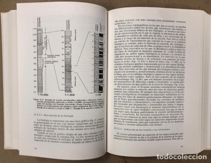 Libros de segunda mano: ESTRATIGRAFIA, PRINCIPIOS Y MÉTODOS. JUAN ANTONIO VERA TORRES. EDITORIAL RUEDA 1994. - Foto 7 - 208114006