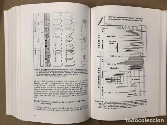 Libros de segunda mano: ESTRATIGRAFIA, PRINCIPIOS Y MÉTODOS. JUAN ANTONIO VERA TORRES. EDITORIAL RUEDA 1994. - Foto 10 - 208114006