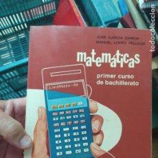 Livres d'occasion: MATEMÁTICAS, PRIMER CURSO DE BACHILLERATO. L.13773-751. Lote 208217212