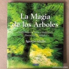 Libros de segunda mano: LA MAGIA DE LOS ÁRBOLES. IGNACIO ABELLA. EDITA RBA (2001). SIMBOLISMO, MITOS Y TRADICIONES, PLANTACI. Lote 208249725
