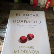 Libros de segunda mano de Ciencias: EL ANDAR DEL BORRACHO. LEONARD MLODINOW. Lote 208969343