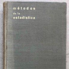 Libros de segunda mano de Ciencias: INTRODUCCIÓN A LOS MÉTODOS DE ESTADÍSTICA. SIXTO RÍOS. EDITADO EN 1952.. Lote 209067492