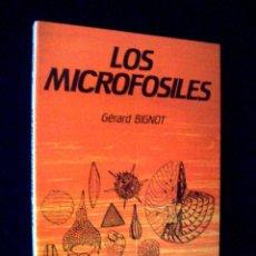 Libros de segunda mano: LOS MICROFÓSILES DE GÉRARD BIGNOT. PARANINFO. Lote 209113413