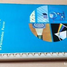 Libri di seconda mano: ATLAS DE FISICA - J FERNANDEZ FERRER - JOVER S301. Lote 209612541