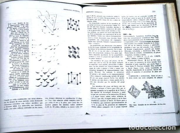 Libros de segunda mano: FOTOCOPIADO / Manual de mineralogía de Dana por Cornelius S. Hurlbut de Ed Reverté en Barcelona 1991 - Foto 6 - 209696283