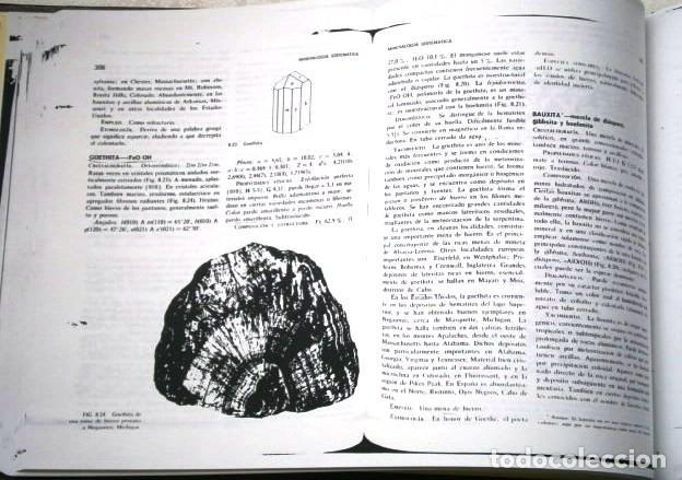 Libros de segunda mano: FOTOCOPIADO / Manual de mineralogía de Dana por Cornelius S. Hurlbut de Ed Reverté en Barcelona 1991 - Foto 7 - 209696283