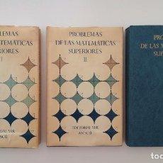 Livres d'occasion: BOLGOV,/DEMIDOVICH : MATEMÁTICAS SUPERIORES - PROBLEMAS (MIR MOSCÚ, 1983) COMPLETA 3 TOMOS. Lote 209939065