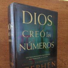 Libri di seconda mano: DIOS CREO LOS NUMEROS - STEPHEN HAWKING - CRITICA - TAPA DURA Y SOBRECUBIERTA - GCH1. Lote 210085685