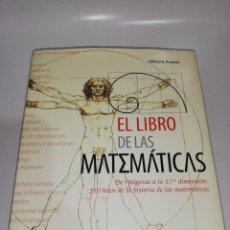 Libri di seconda mano: EL LIBRO DE LAS MATEMÁTICAS - CLIFFORD A. PICKOVER. Lote 210153121