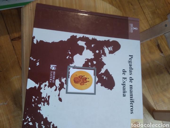 Libros de segunda mano: PEGADAS DE MAMIFEROS DE ESPAÑA. - Foto 2 - 210287470