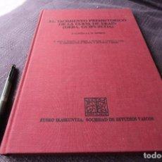 Libros de segunda mano: EL YACIMIENTO PREHISTORICO DE LA CUEVA DE EKAIN (DEBA,GUIPUZCOA) - J. ALTUNA Y J. M. MERINO. Lote 211399391