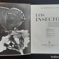 Libros de segunda mano: 1973 - ENTOMOLOGÍA - INSECTOS - ENOME LIBRO ILUSTRADO CON DIBUJOS Y FOTOGRAFÍAS - ZOOLOGÍA. Lote 211403145