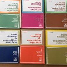 Libros de segunda mano de Ciencias: CURSO ELEMENTAL DE MATEMATICAS SUPERIORES 6 TOMOS COMPLETA J, QUINET VER FOTOS. Lote 211478104