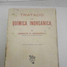 Libros de segunda mano de Ciencias: TRATADO DE QUÍMICA INORGANICA MANUEL MARIN 1942.. Lote 211588832