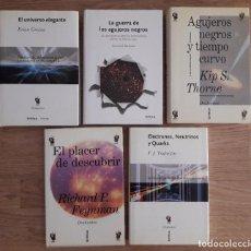 Libros de segunda mano de Ciencias: LOTE 5 LIBROS CIENCIA- CRÍTICA. DRAKONTOS. Lote 211676444
