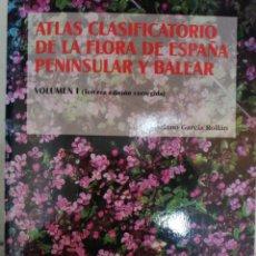 Livros em segunda mão: ATLAS CLASIFICATORIO DE LA FLORA DE ESPAÑA PENINSULAR Y BALEAR MARIANO GARCÍA ROLLAN. Lote 211799630