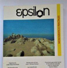 Libros de segunda mano de Ciencias: EPSILON. REVISTA DE LA SOCIEDAD ANDALUZA DE EDUCACIÓN MATEMÁTICA THALES Nº 28. Lote 211856962